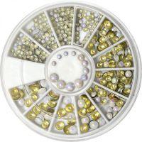 Okrúhle opálové ozdoby - kolotoč