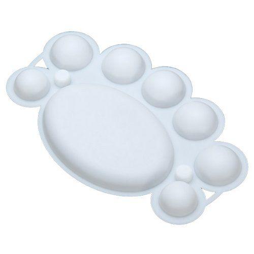 Paletka na farby - biela