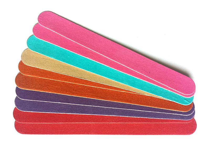 Sada 10ks papierových pilníkov