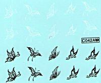Vodolepky - C042A Motýle