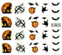 Vodolepky Halloween K186
