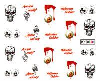 Vodolepky Halloween K190