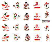 Vodolepky Zimné K135