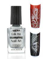 WEXA Stamping lak - Metallic Silver