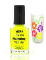 WEXA Stamping lak - Neon Yellow