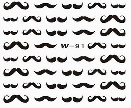 Black Cuticle Tattoo W-92