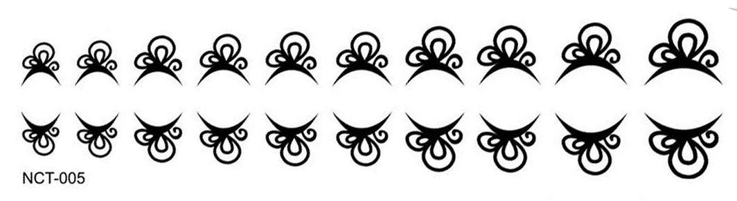 Black Cuticle Tattoo NTC-005