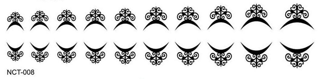 Black Cuticle Tattoo NTC-008