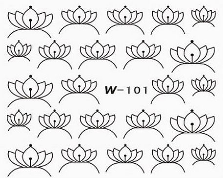 Black Cuticle Tattoo W-101