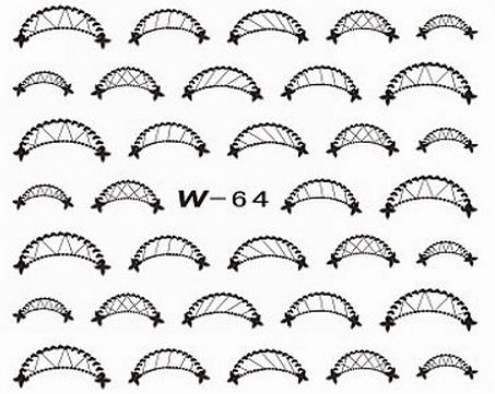 Black Cuticle Tattoo W-64
