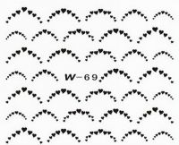 Black Cuticle Tattoo W-69