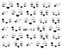 Black Cuticle Tattoo W-72
