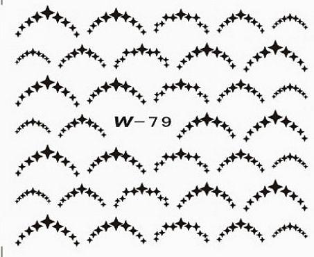 Black Cuticle Tattoo W-79