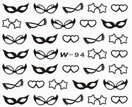 Black Cuticle Tattoo W-94