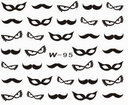 Black Cuticle Tattoo W-95