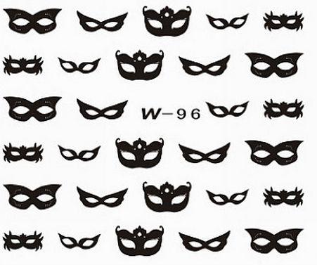 Black Cuticle Tattoo W-96