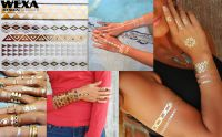 Flash Metallic Tattoo - 108