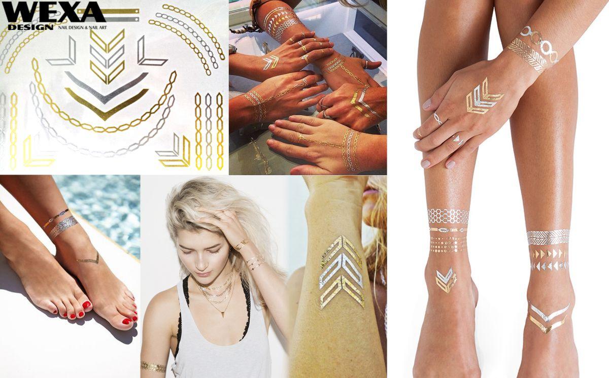 Flash Metallic Tattoo - Metalické tetovanie 110