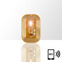 LED svietiaca nálepka na nechty - WHITE