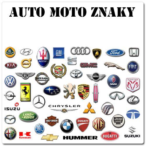Logá automobiliek na gélové nechty - značky áut na gélové nechty
