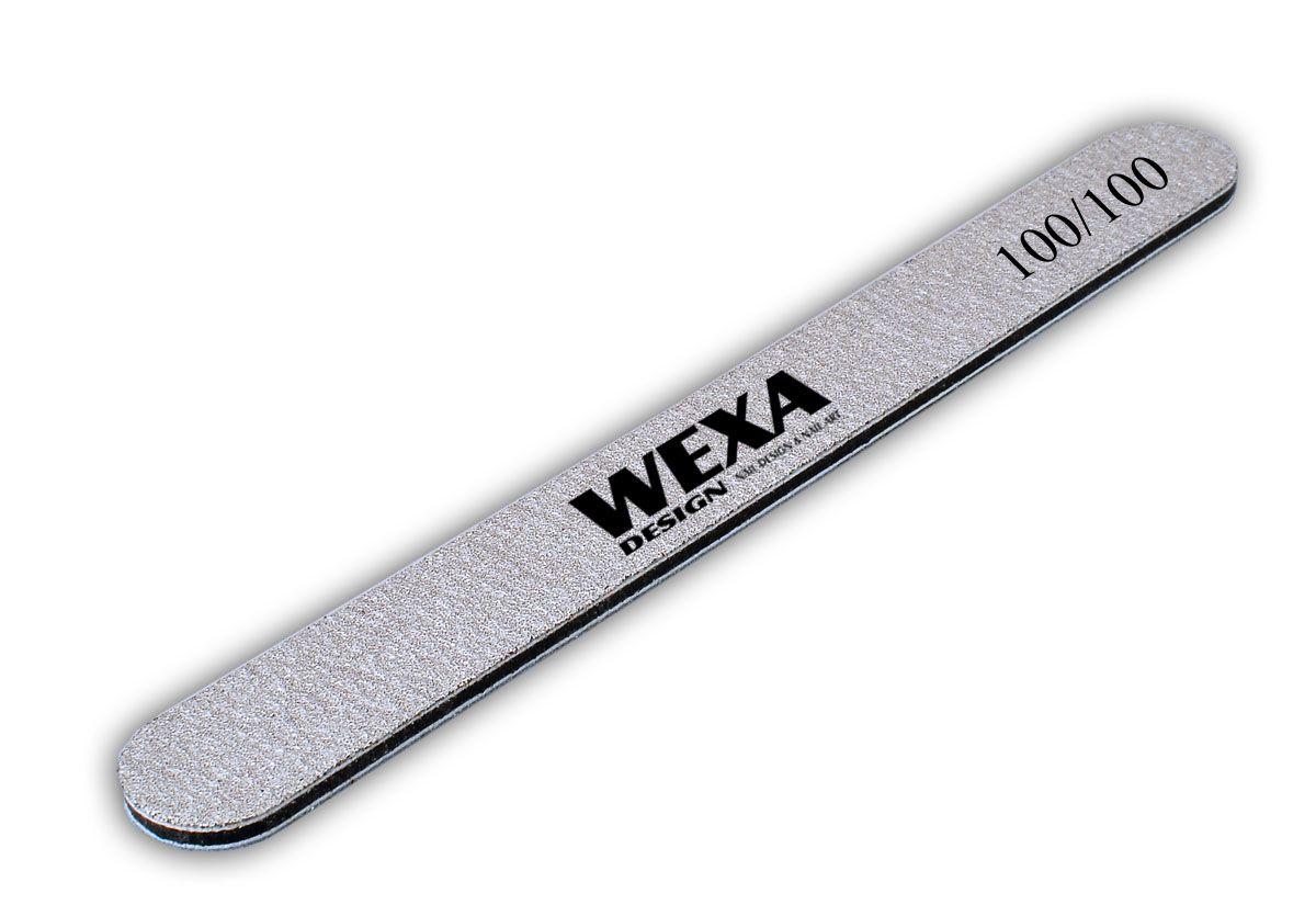 Long Life profi pilník na nechty zebra rovný 100/100 WEXA