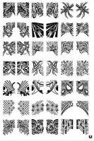 Stamping Nail Art platnička - XL U
