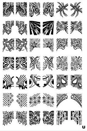 Platnička pre Stamping Nail Art XL U