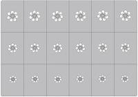 Šablónka samolepiaca - AS046