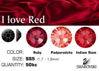 Swarovski F - I love Red