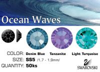 Swarovski F - Ocean Waves