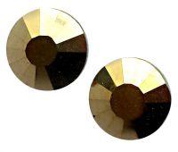 Zirkonium kamienky na nechty - Metallic Gold