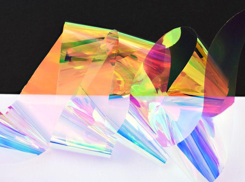 Glass Nail Foil - pre sklenný efekt 2