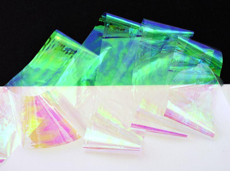 Glass Nail Foil - pre sklenný efekt 3