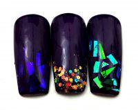 Glass Nail Foil - pre sklenný efekt 5