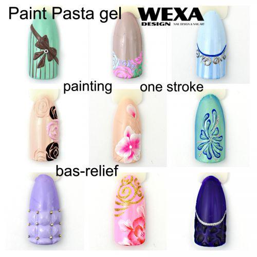 Painting Pasta gel
