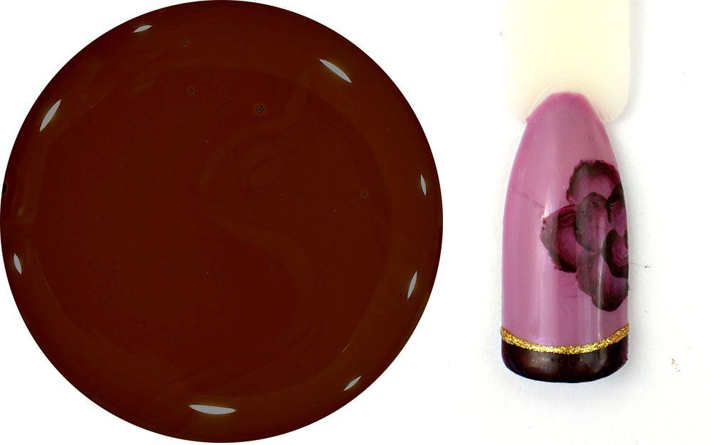 cokoladova hneda farba uv gel