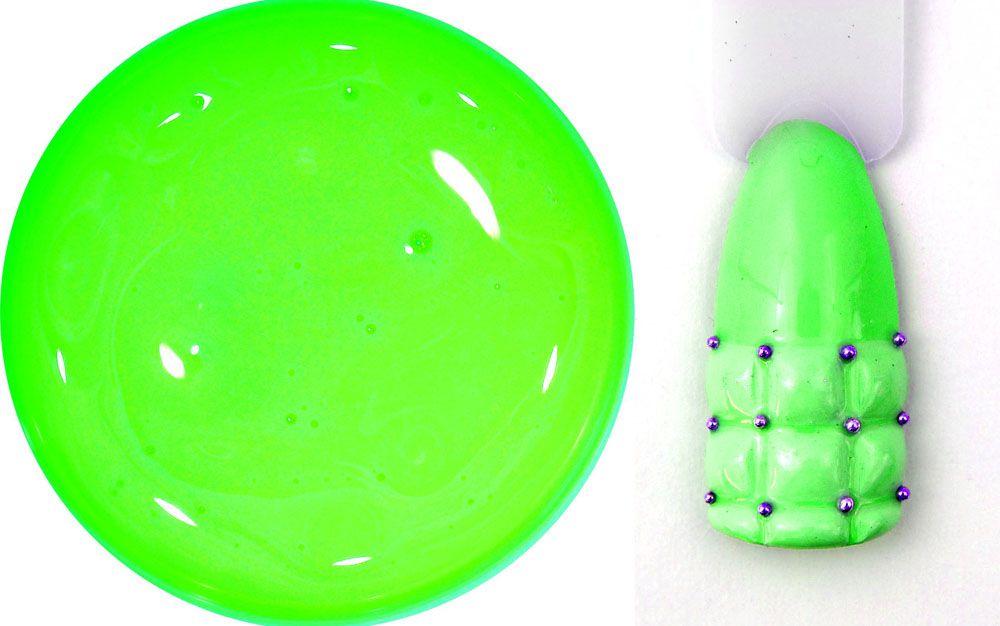 3d zdobenie farebnym uv gelom