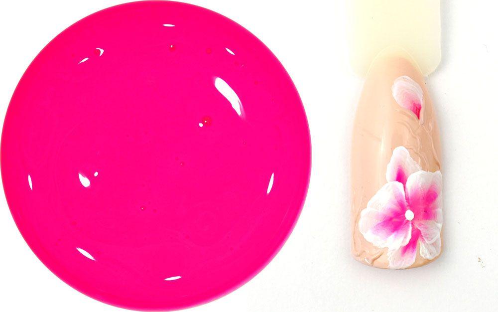 one stroke malovanie farebnym uv gelom
