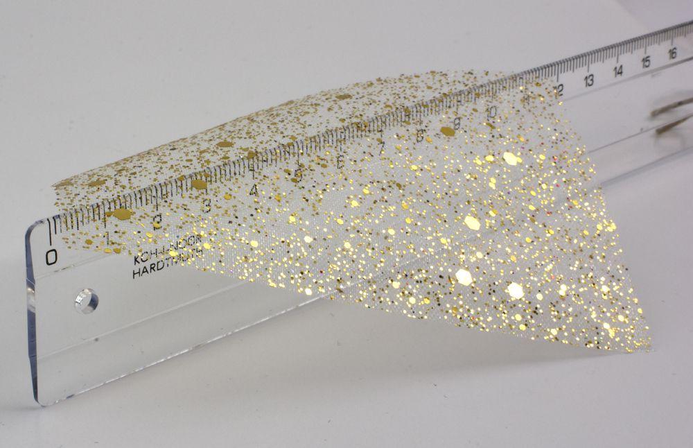 Sieťka na nechty Galaxy č.72 - Gold