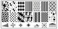 Stamping Nail Art platnička JQ-L01