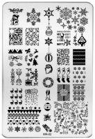 Stamping Nail Art platnička  MR-02