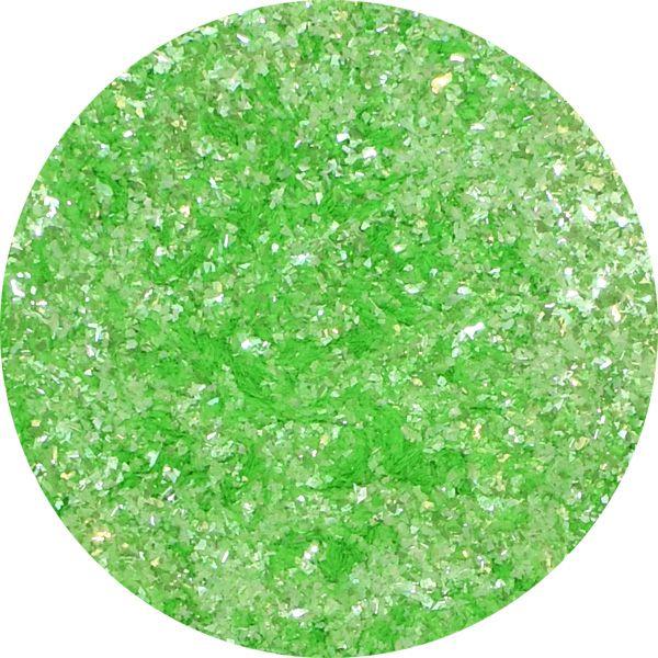 Unikátny pigment na zdobenie nechtov Fairy Dust 1 Green