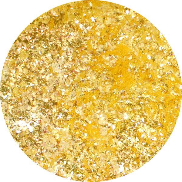 Unikátny pigment na zdobenie nechtov Fairy Dust 17 Yellow