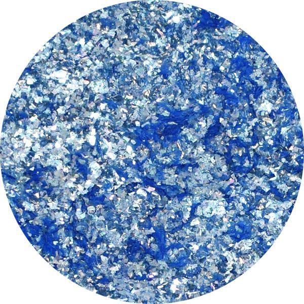 Unikátny pigment na zdobenie nechtov Fairy Dust 18 Blue