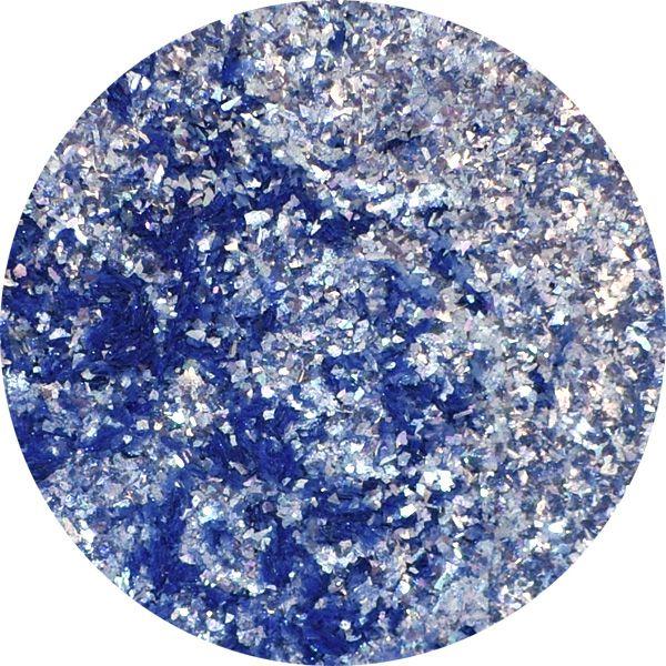 Unikátny pigment na zdobenie nechtov Fairy Dust 21 Blue