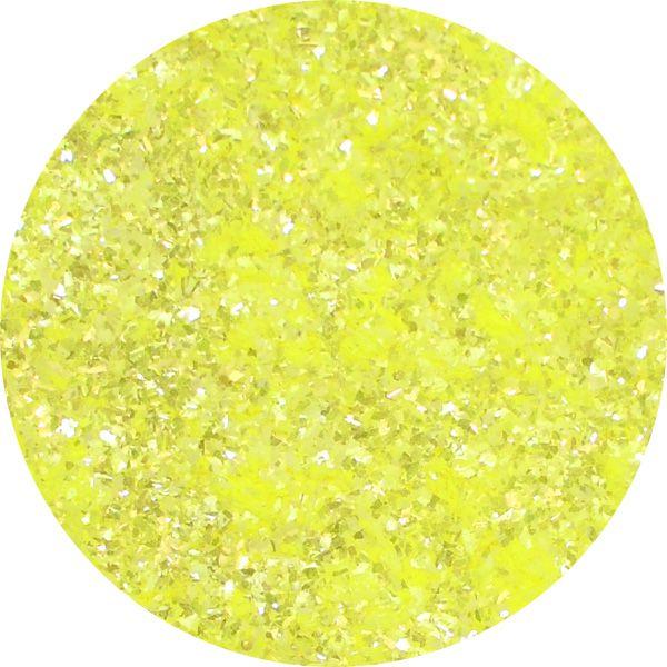 Unikátny pigment na zdobenie nechtov Fairy Dust 2 Yellow