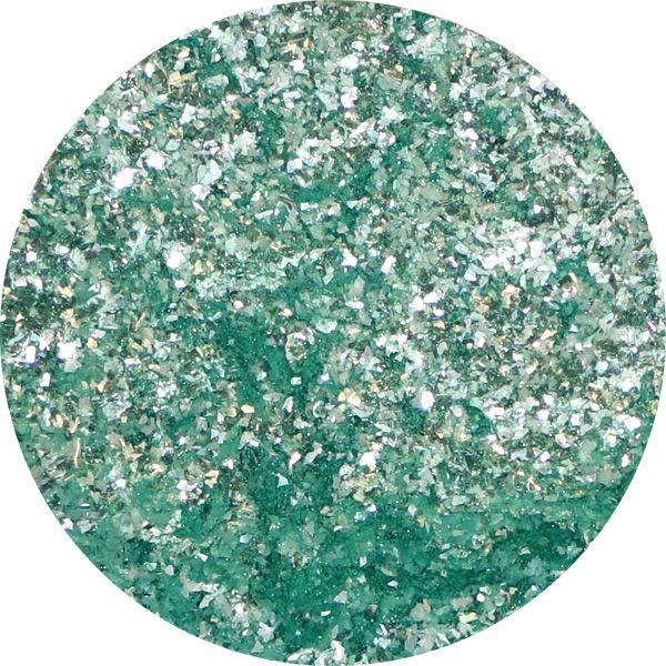 Unikátny pigment na zdobenie nechtov Fairy Dust 3 Green