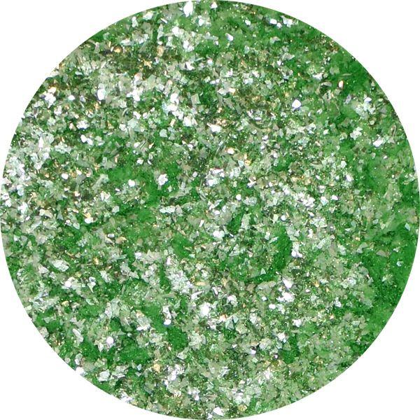 Unikátny pigment na zdobenie nechtov Fairy Dust 4 Green
