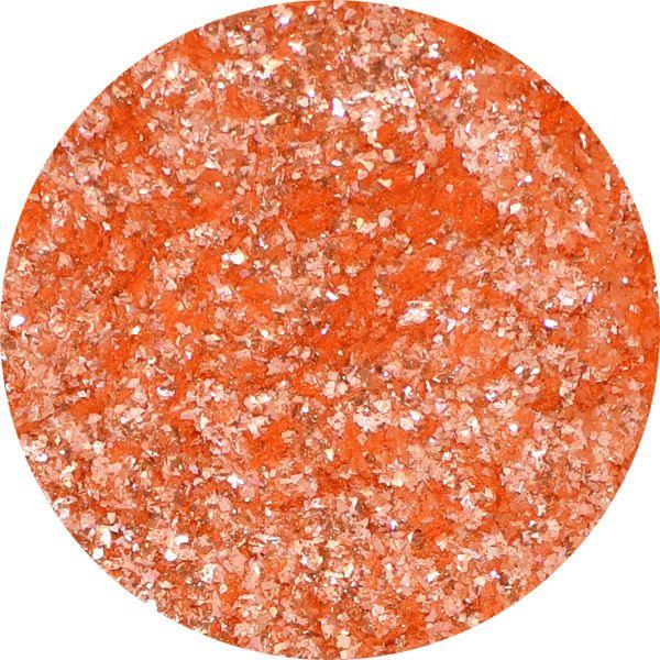 Unikátny pigment na zdobenie nechtov Fairy Dust 8 Orange