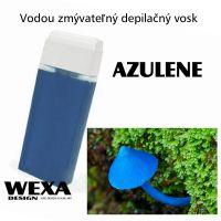 Vodou zmývateľný depilačný vosk - Azulene